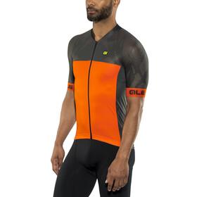 Alé Cycling Formula 1.0 Ultimate Kortärmad cykeltröja Herr orange/svart